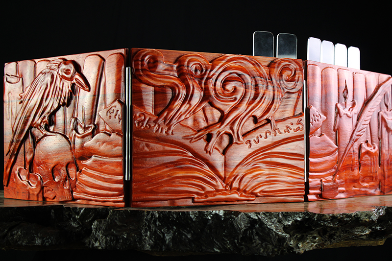 Padauk Spellbook Valhalla Screen