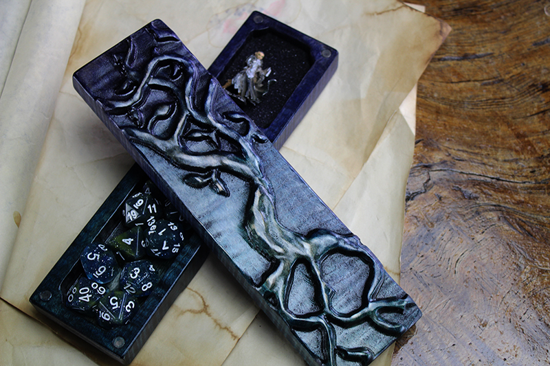Galaxy Yggdrasil Moon Phases Dragon Sheath