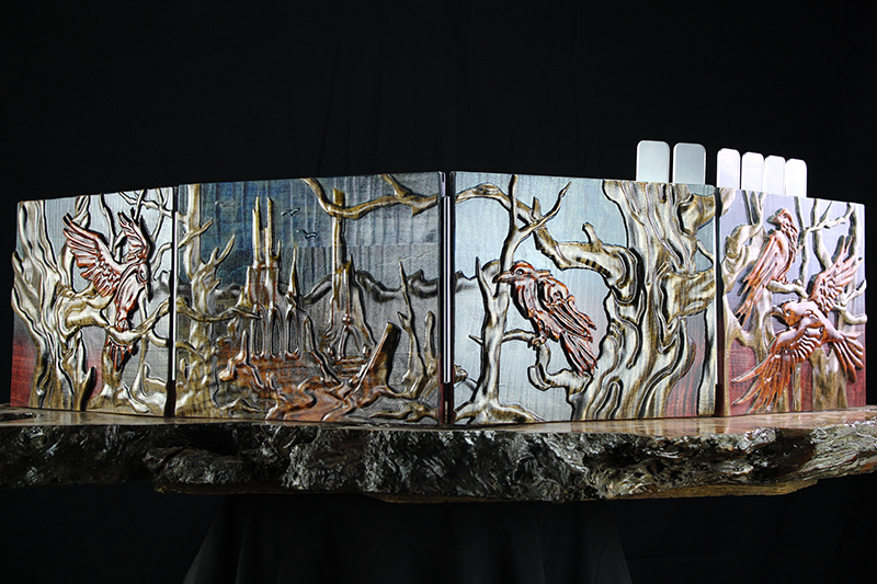 Selectively Stained Dark Forest Valhalla Screen