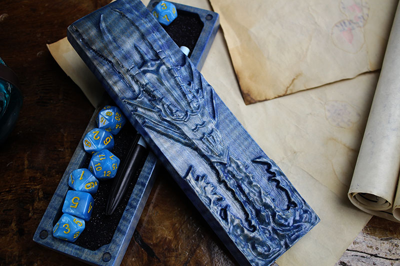 Sapphire Maple Dragon Sheath
