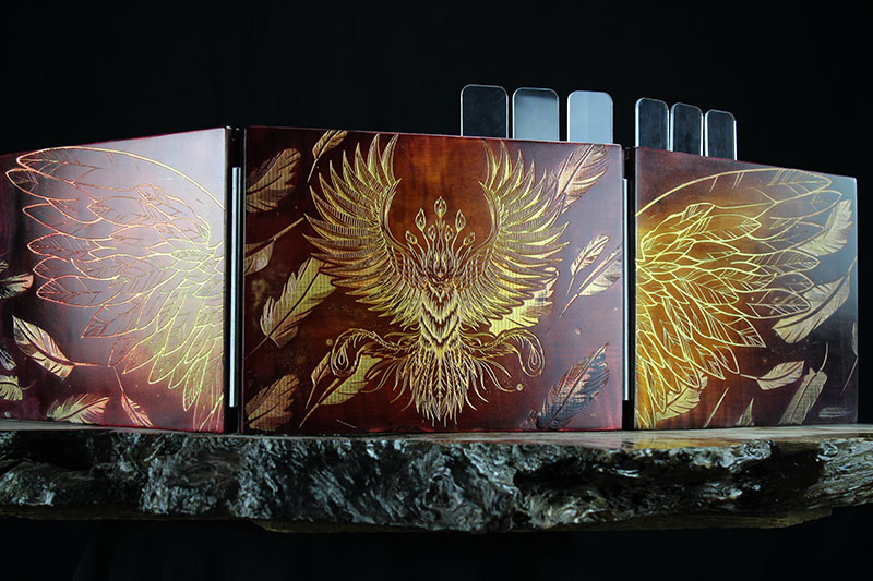 Prismatic Phoenix Valhalla Screen