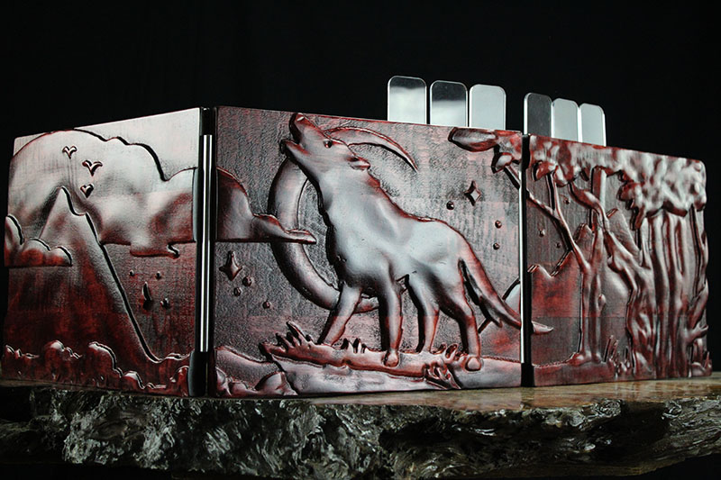 Demons Blood Howling Wolf Valhalla Screen