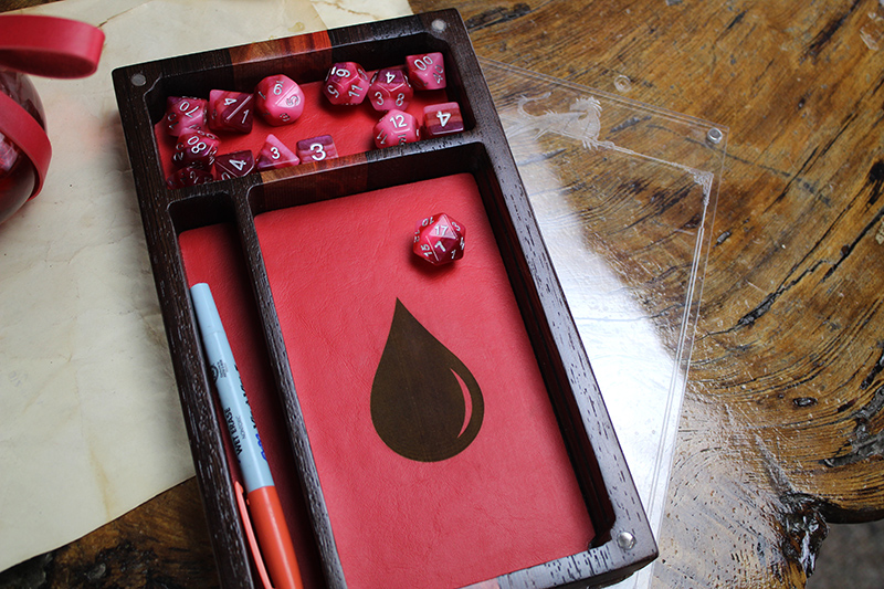 Wenge & Redheart Player Pad