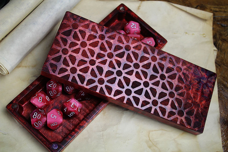 Ruby Geometric XL Dragon Sheath
