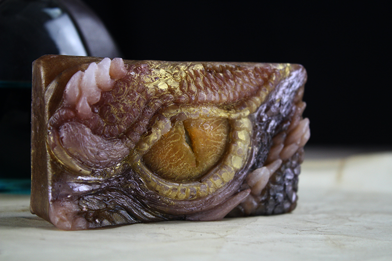 Handcrafted Dragons Eye Soap