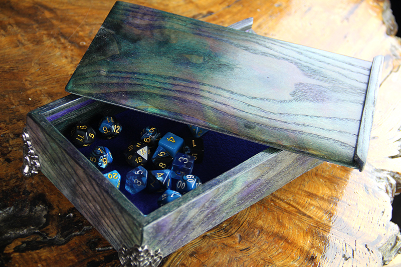 Dog Might Games - Dice Chests for Storage and Rolling